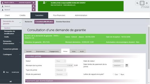 Screen F2B Guarantees